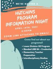Hutchins Information night
